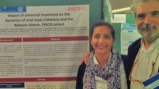 La Cohort PISCIS mostra a l'IWHOD l'impacte del tractament universal
